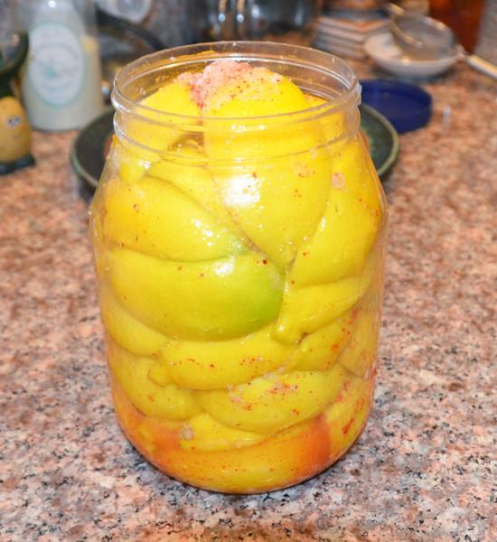 Как солить лимоны рецепт