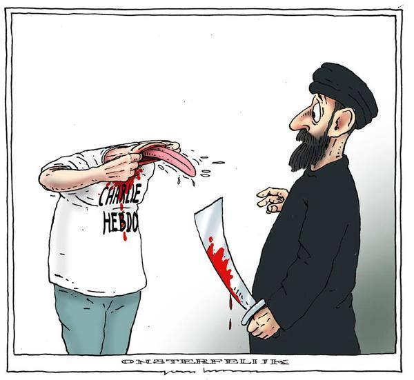 Na smert Chalie Hebdo