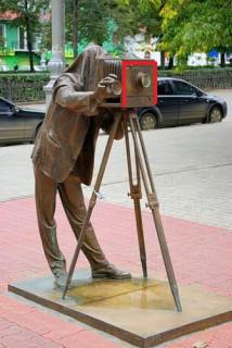 Пермь. Памятник фотографу.
