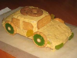 детский торт МАШИНКА