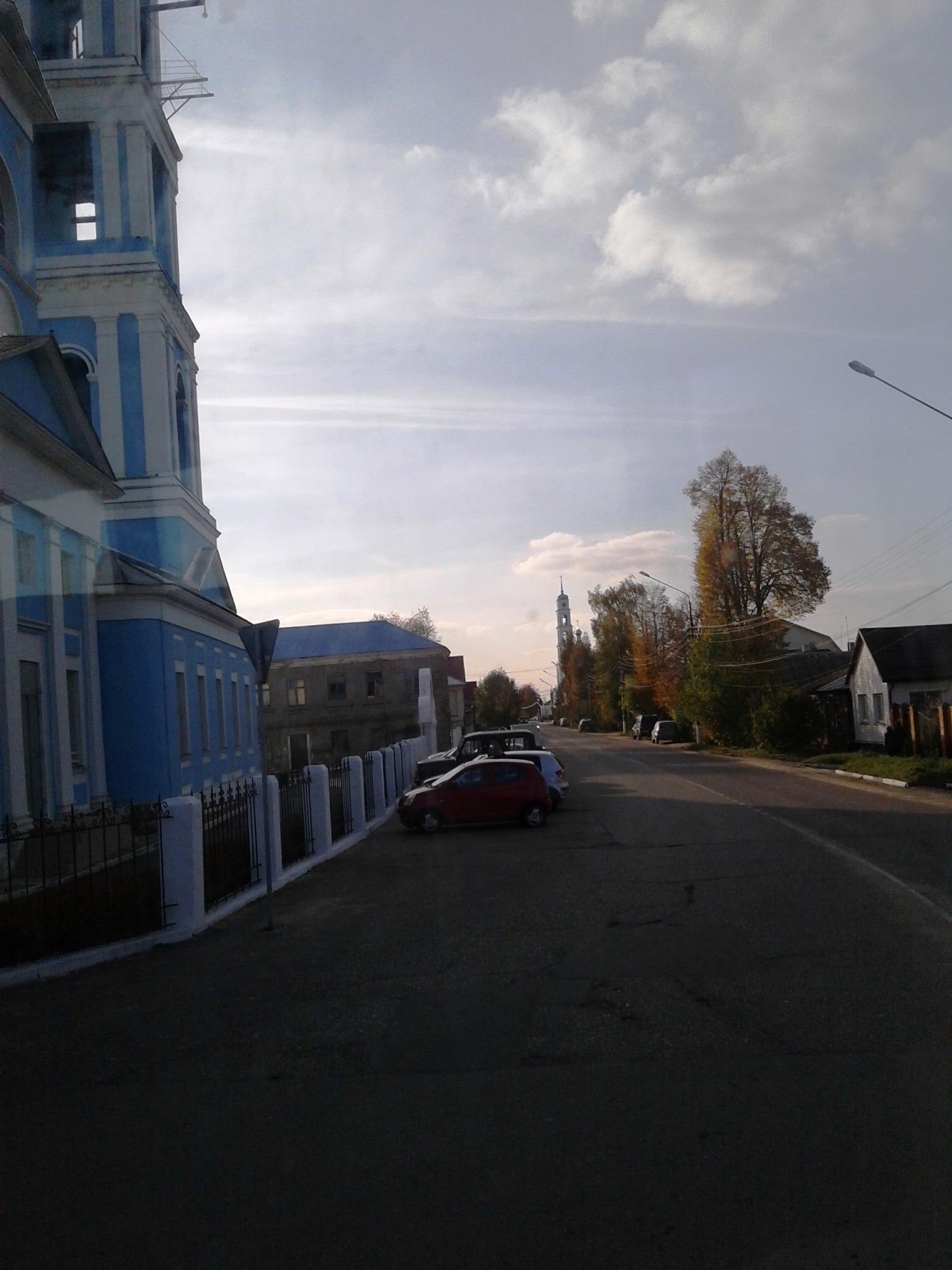 6 октября 2021, 15:41 — Кашира, вид на Введенскую церковь