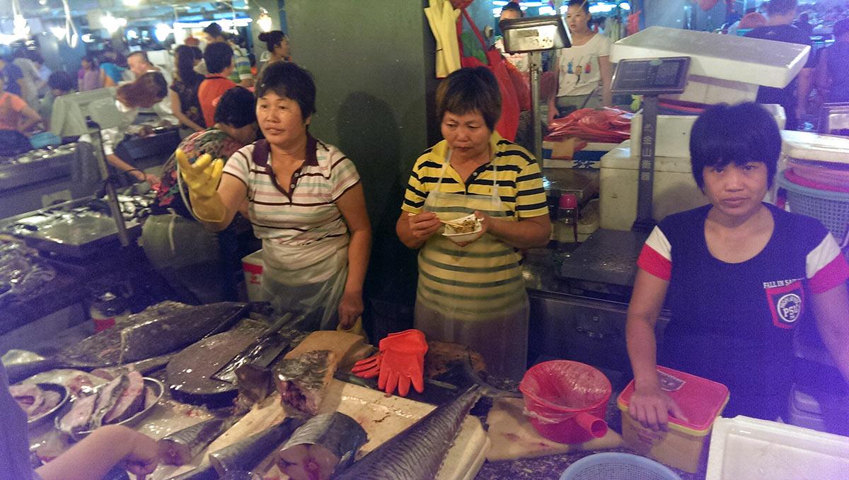 Продажа рыбы в Санье