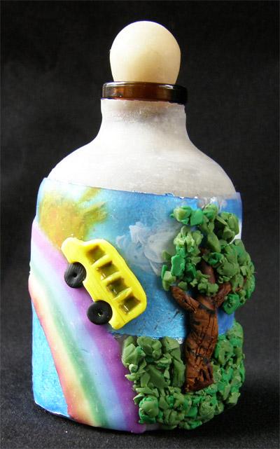 Rainbow, School, Liquid 3