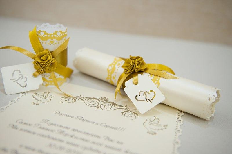 Приглашение на свадьбу в виде свитка шаблоны