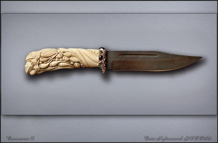 часть фото резные ручки для ножей из дерева популярного