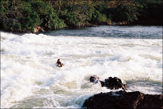 Rápidos del Nilo