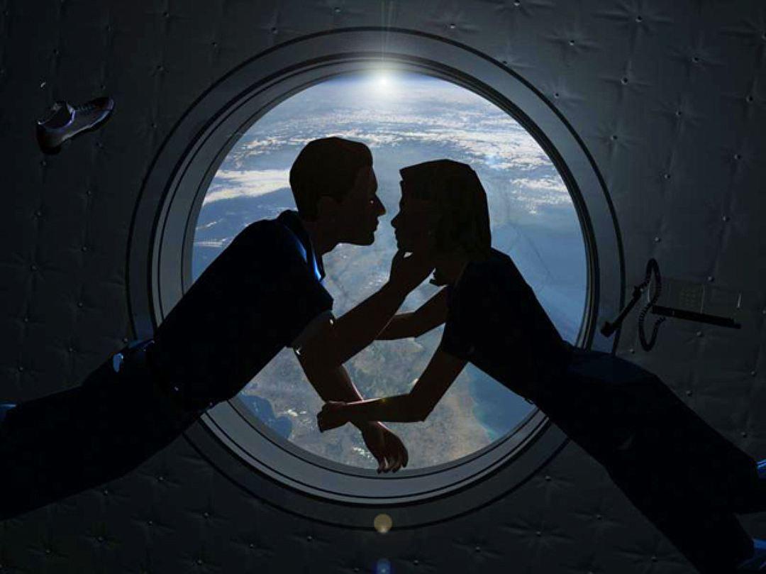 Как ведёт себя в космосе — член?