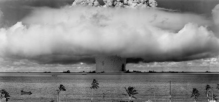 Полигоны, где испытывали ядерное оружие