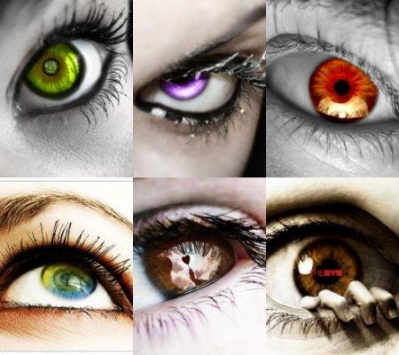 Узнай о характере по цвету глаз!