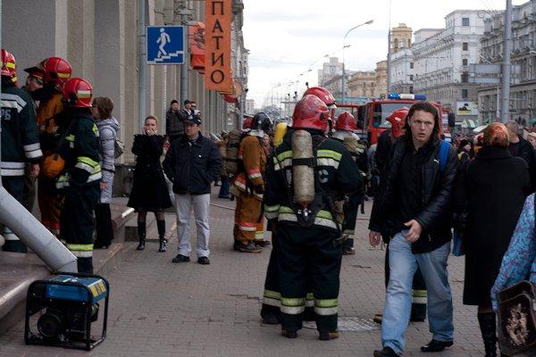 Взрыв в Минске на станции метро