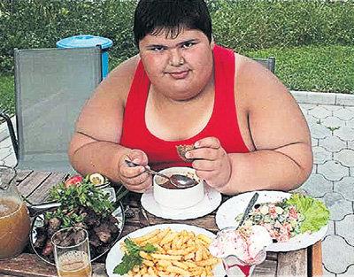 Ребенок жирный
