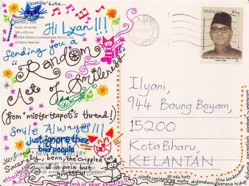 Что можно написать в открытке посткроссинг 65