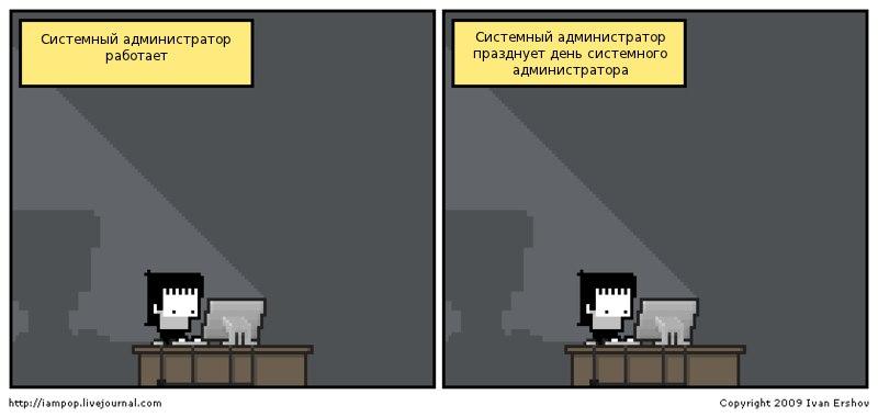С Днём Системного Администратора!