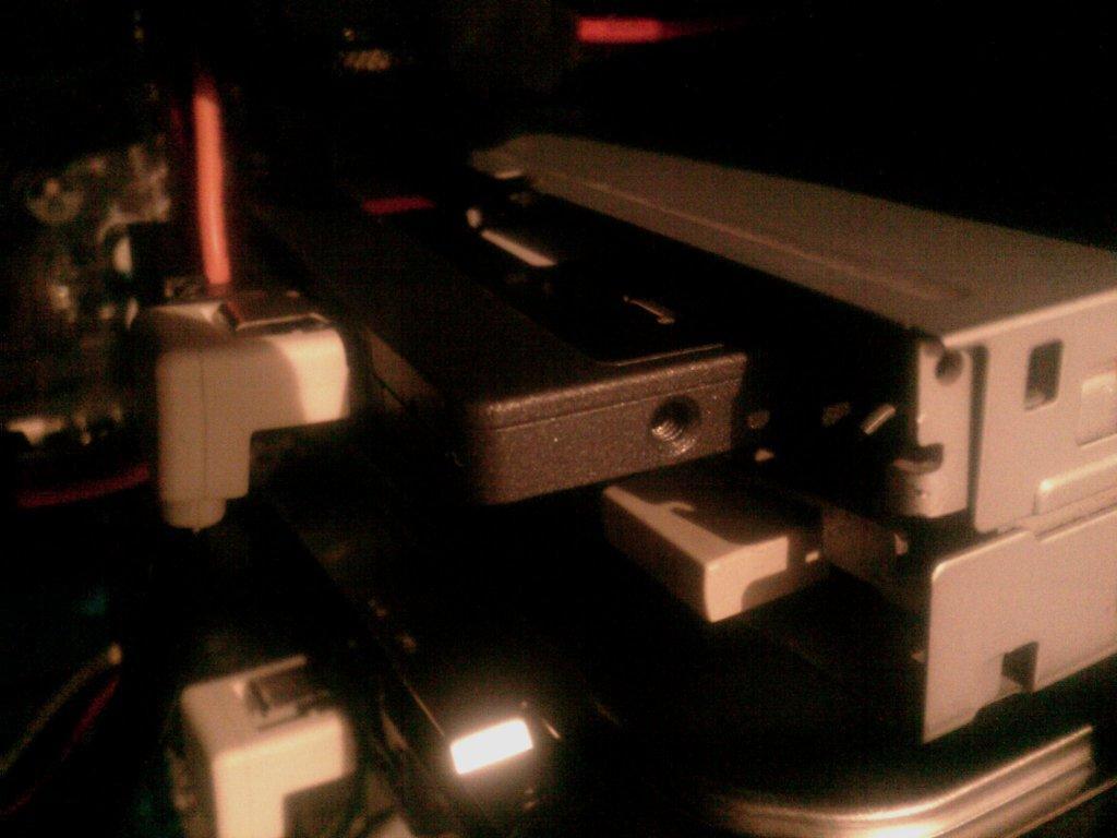 SSD Диск и FDD дисковод - алхимический брак