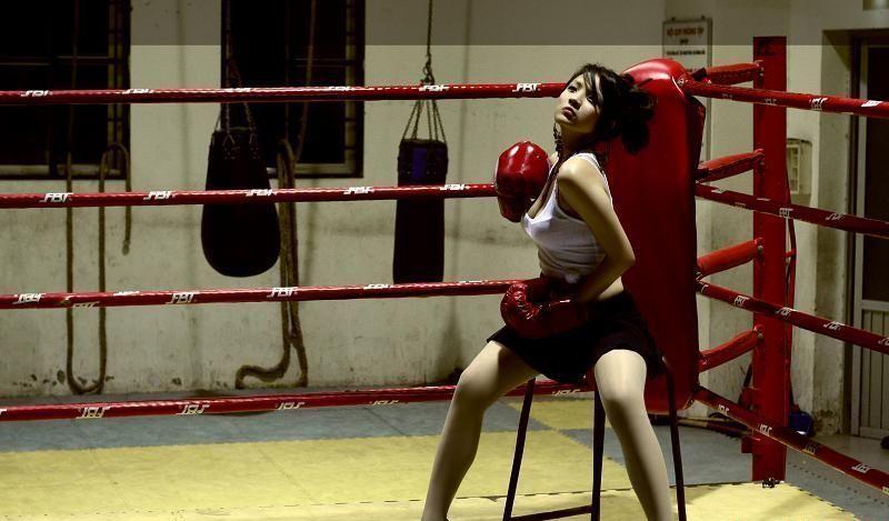 Секс на боксе