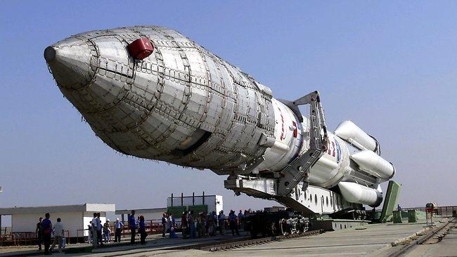 Космические войска - Ракета