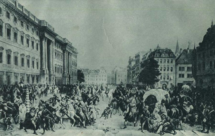 Семилетняя война. Взятие Берлина