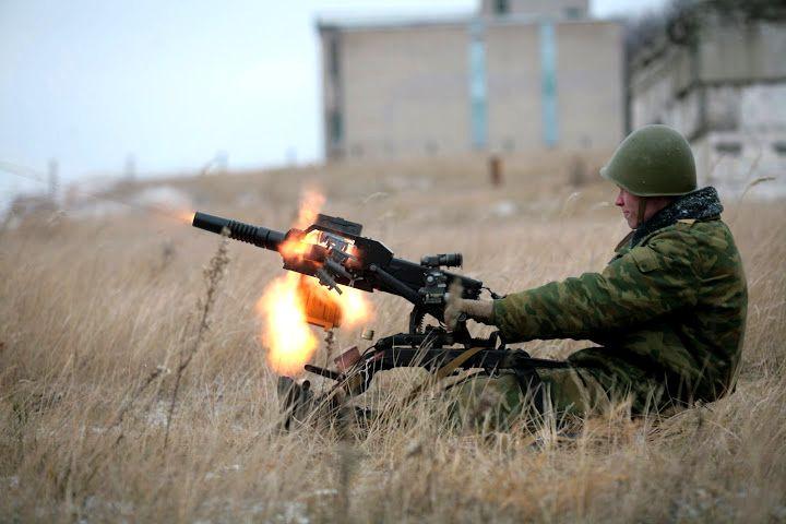 Российский гранатомет АГС-17 на службе сирийской армии