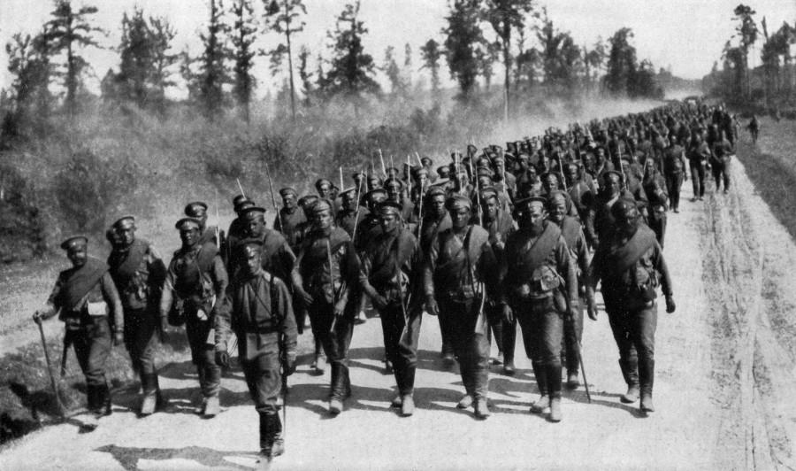 Армии к началу первой мировой войны