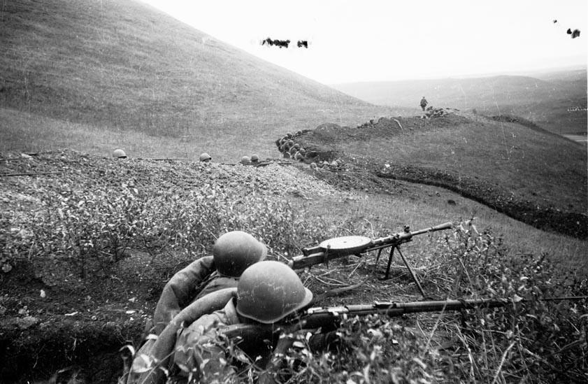 Оборонительные бои на Кавказе. 1942 год.