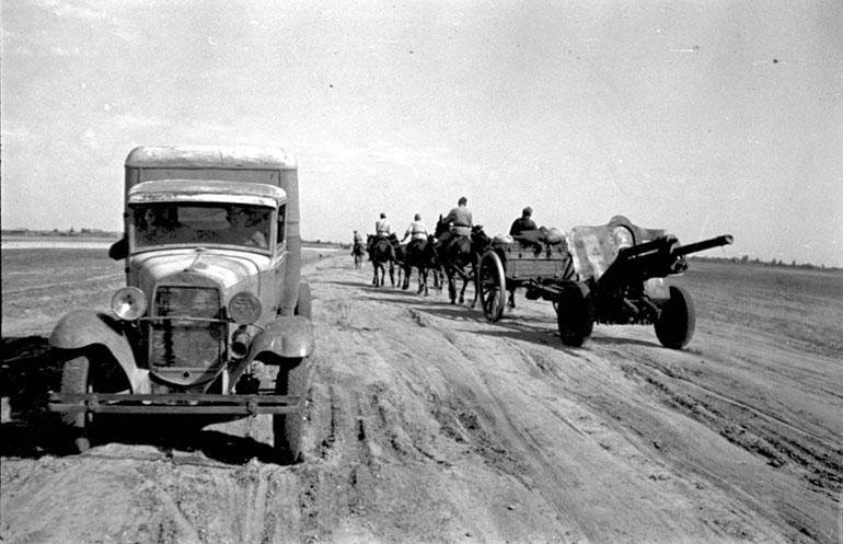 Автомобильная слуба в период великой отечественной войны