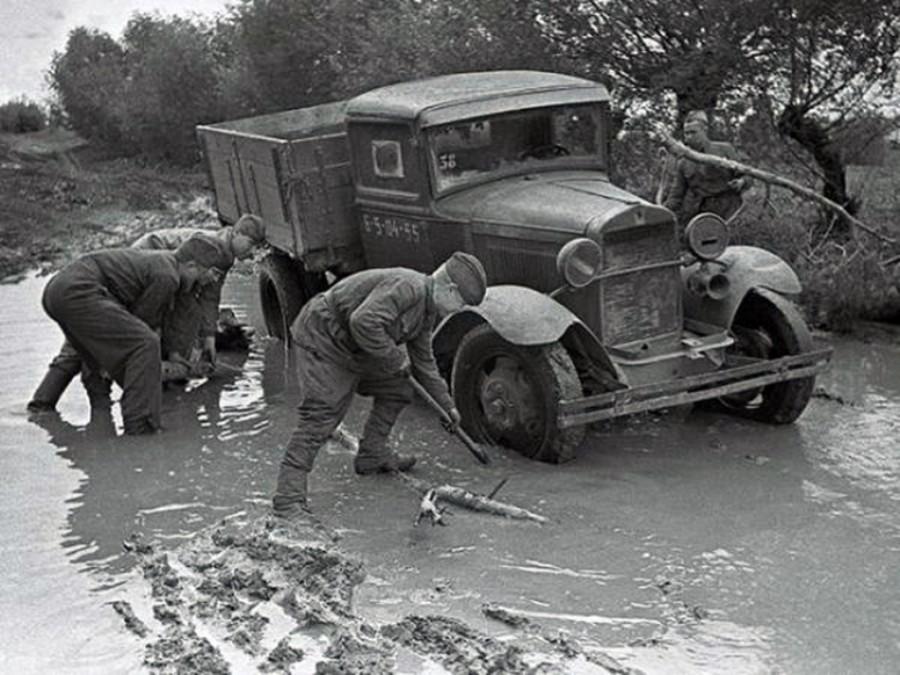 Автомобильная слуба в период великой отечественной войны 1