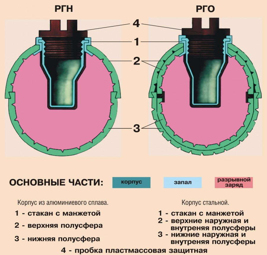 Общее устройство РГН, РГО
