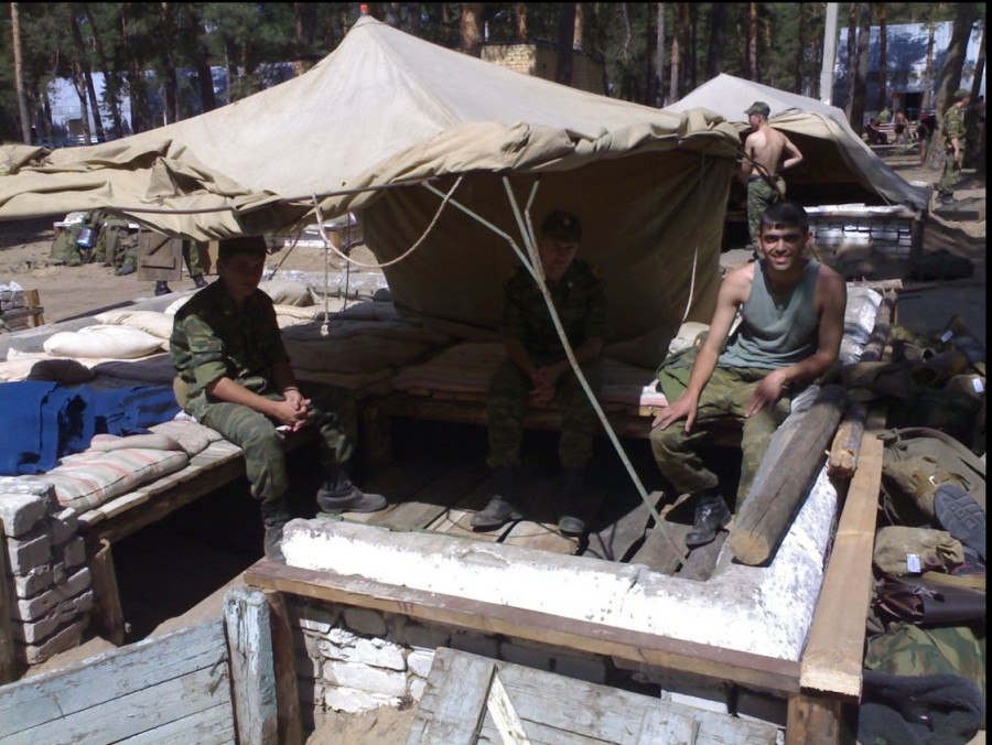 Военная полевая палатка