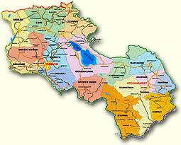 Карты Армении и Карабаха