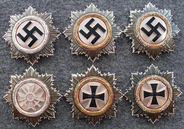 Немецкий крест своими руками