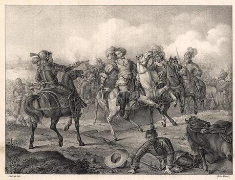 Вообще-то это Густав Адольф и Лютцен. Но мог быть и герцог де Фонсека.