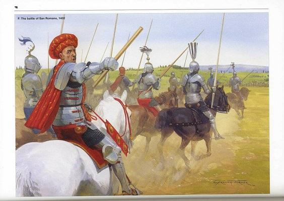 Флорентийский полководец несколько удивлён - узнав, что, оказывается, у него под началом какая-то особо сильная пехота.