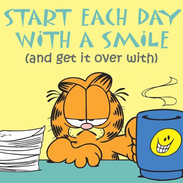 Garfield Smile