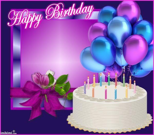 HB Cake & balloons