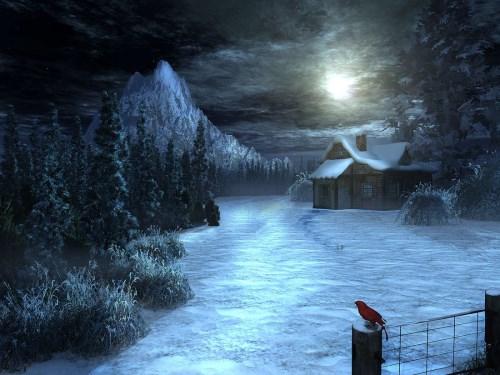 Spooky winter