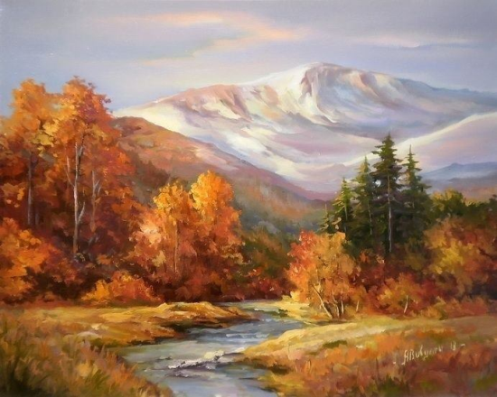 Autumn painting (2)