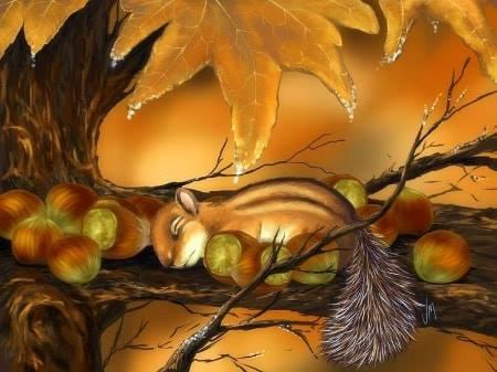 Autumn cuteness