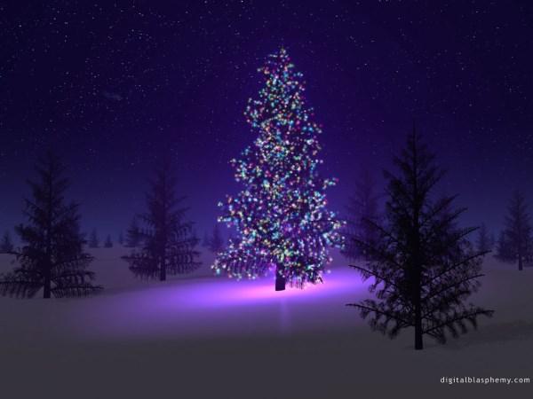Nighttime Tree