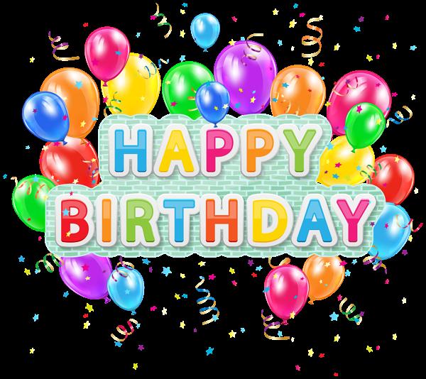 Happy Birthday Balloons 2