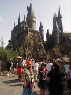Peeves, Morag, and Claudia before Hogwarts!