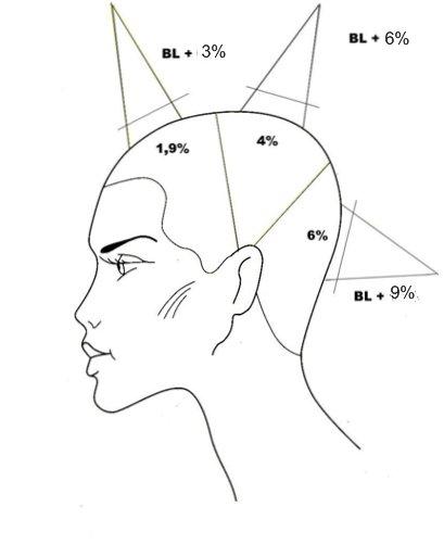 Страница 1 из 2 - Схемы и техники окрашивания волос.  Я применяю обычную технику: нижнезатылочная зона - два блока...