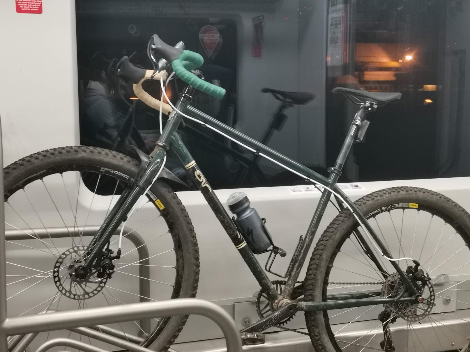 Singular Gryphon в поезде МЦК.