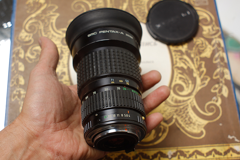 smc pentax-a zoom 1:4 28-135mm macro