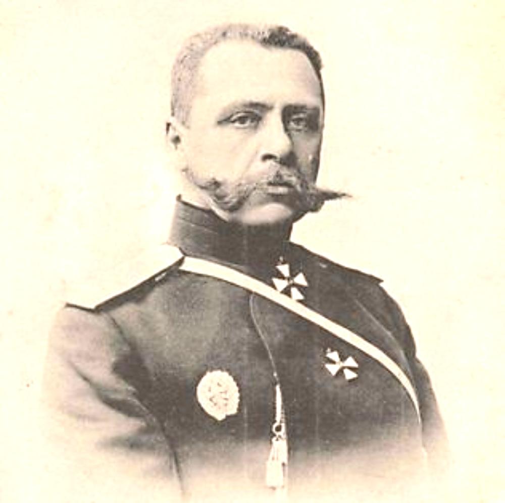 Генерал П.К. Ренненкампф.