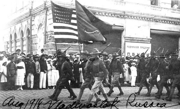 Американские войска на Дальнем Востоке под командованием Грейвса были заражены большевизмом.