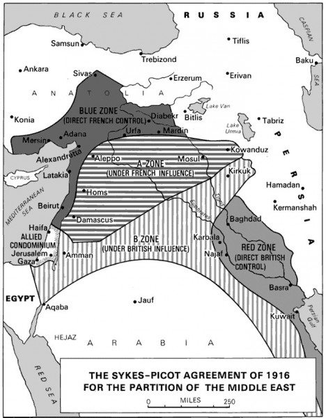 Соглашение о передаче Российской Империи Константинополя, черноморских проливов, Армении, Курдистана