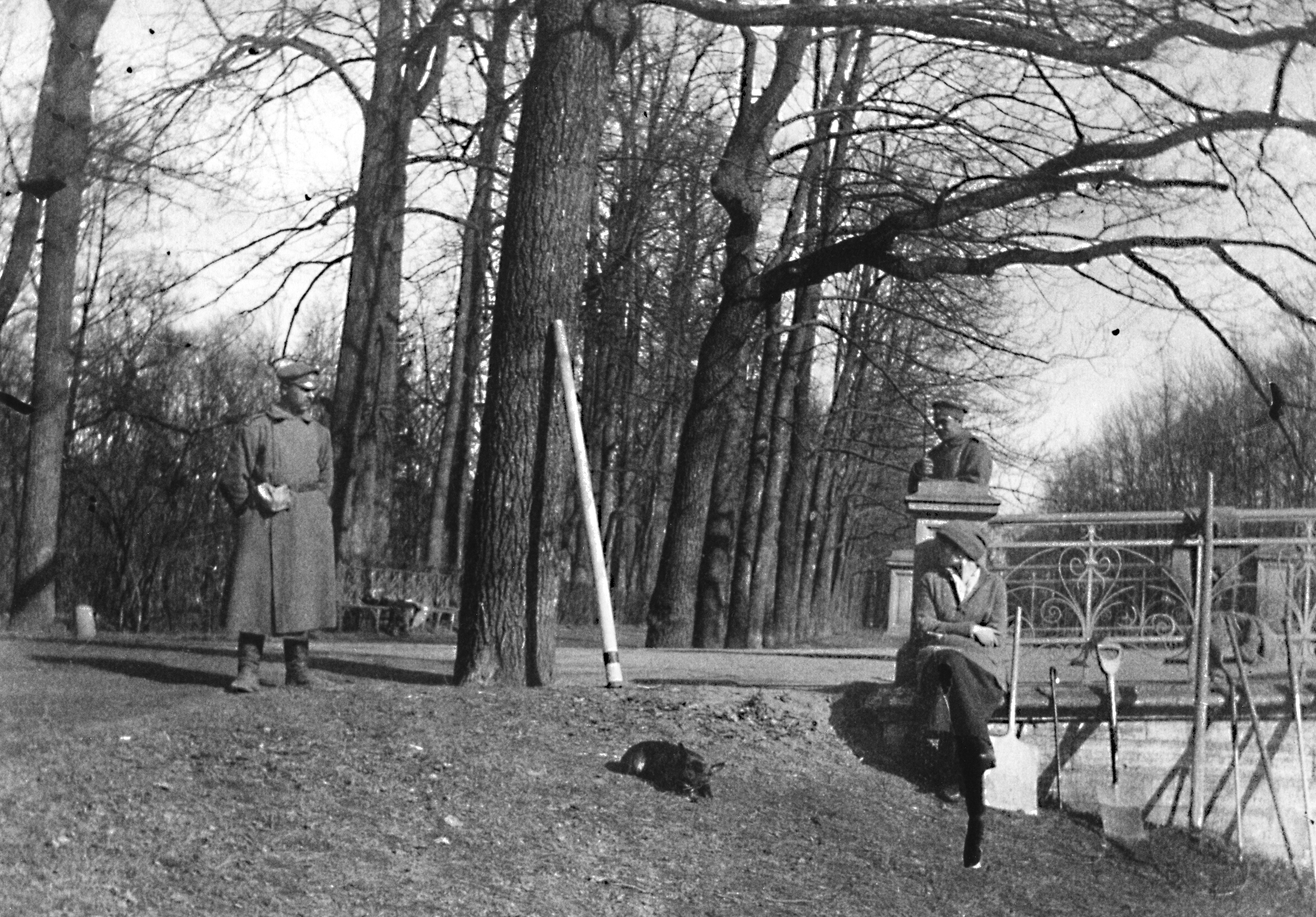 Царское Село, весна 1917 года.