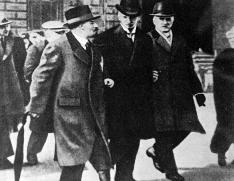 Ленин в Стокгольме (апрель 1917 года).