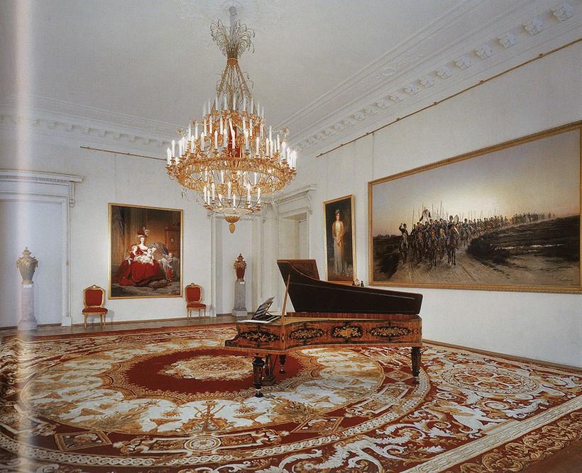 Апартаменты Святой Царской Семьи в Царскосельском Александровском дворце.