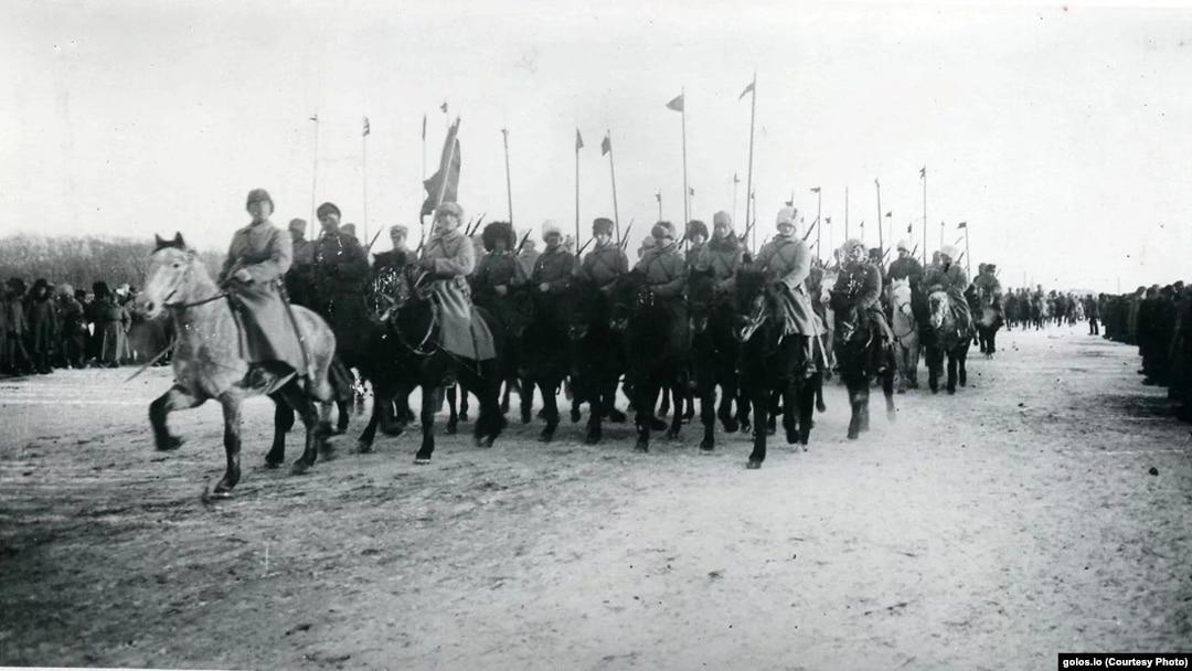 Красные бандиты в Сибири.